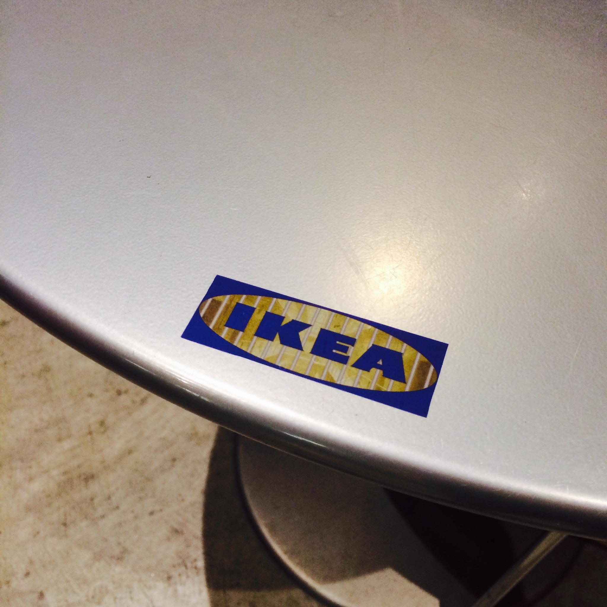 Sticker Project IKEA Logo  A Story is Not a Tree