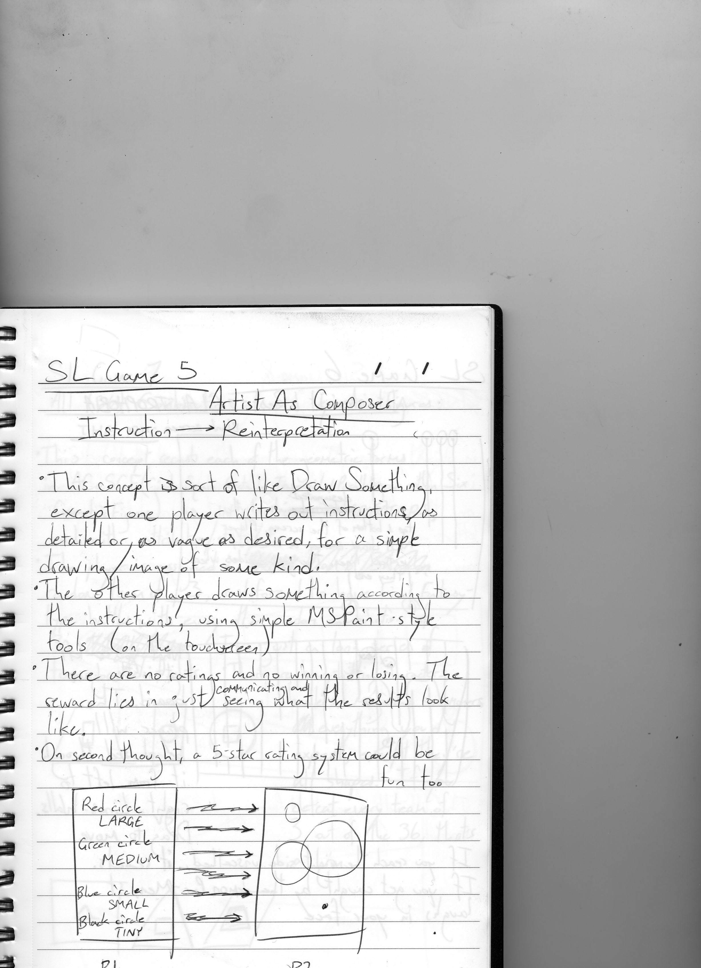My Sketchbook Sol Lewitt Game 5 A Story Is Not A Tree