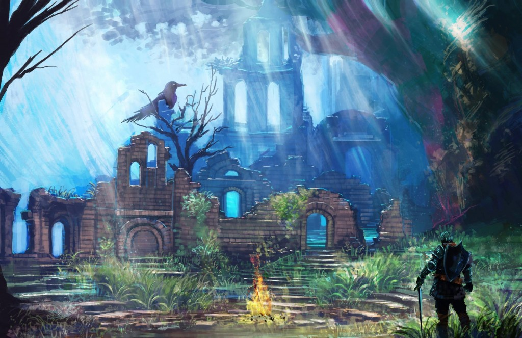 Firelink Shrine, Dark Souls