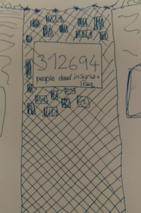 sketch of screen (sign system)