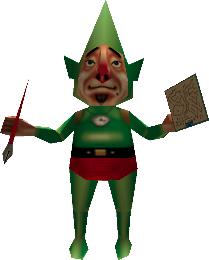 Tingle, Legend of Zelda