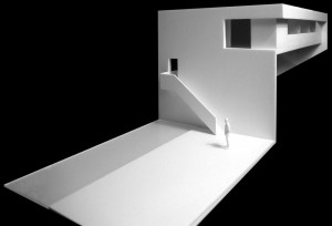 03-FRAN-SILVESTRE-ARQUITECTOS-VALENCIA-HOUSE-ON-THE-CLIFF-SKECH-MODEL