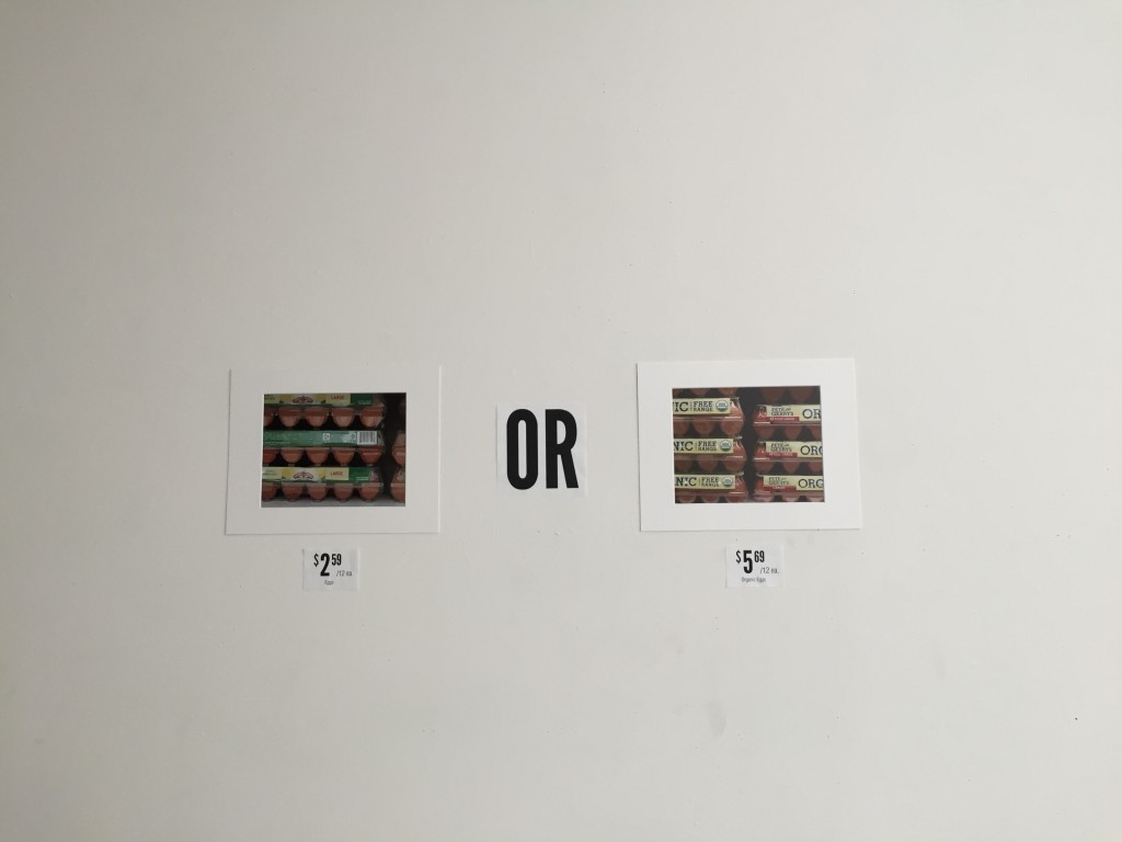 Eggs OR Organic Eggs?