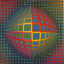 Vega-Nor c. 1969, painted by Victor Vasarely