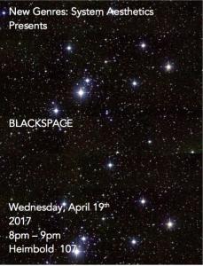 Blackspace Poster
