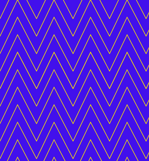 Beginning with a repeating pattern: zig-zag lines