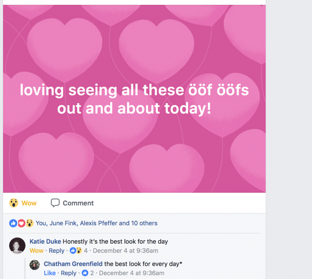 OöfOöf on Facebook