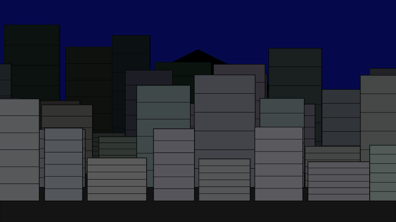 Scrolling city