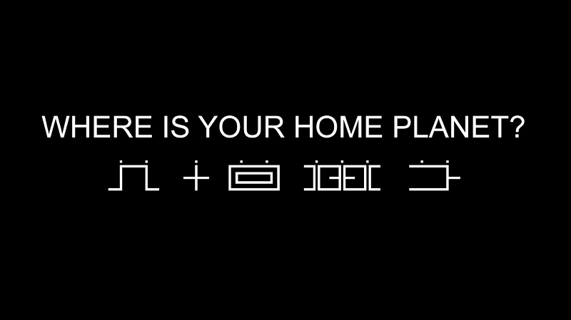 1 WHERE IS YOUR HOME PLANET