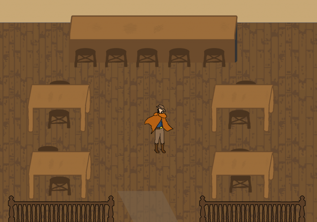 New map: The Saloon (quite empty right now though).