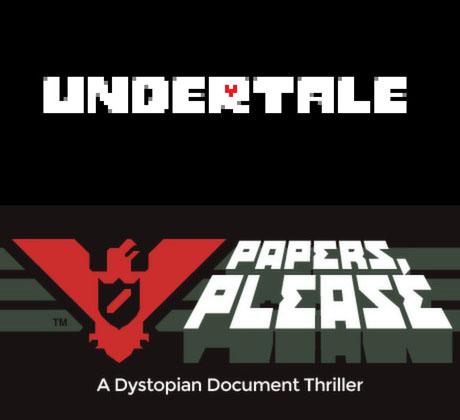 undertale_papersPleaseLogos